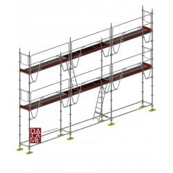 ECHAFAUDAGE MULTI MEKA 48 60m² COMPLET